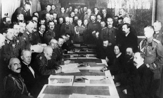 Treaty of Breast-Litovsk