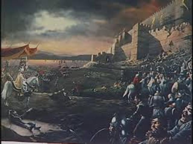 Byzantine Empires's Fall
