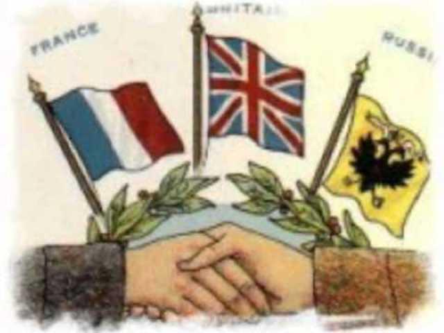 Firma de la Triple Entente