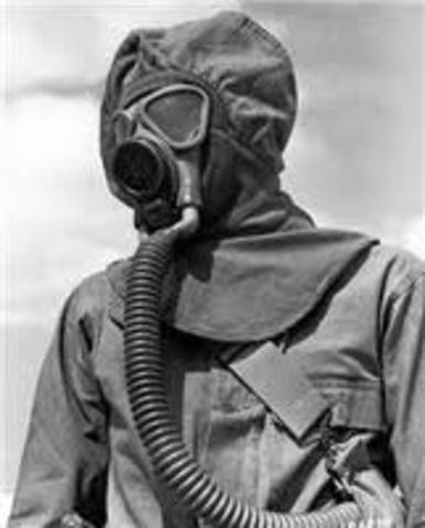 First use of poison gas