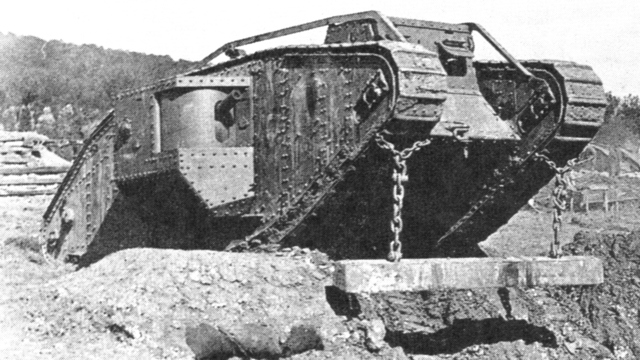 1st armored tank used