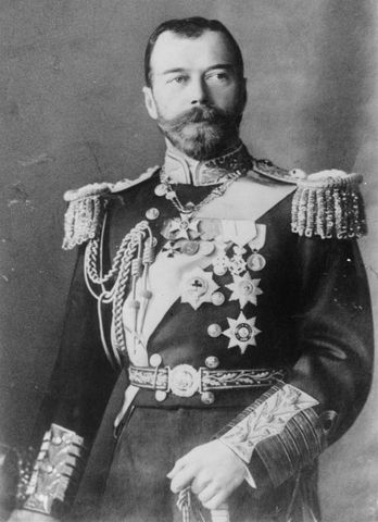 Czar Nicholas II is overthrown