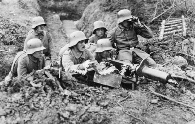 Germany begins a major offensive on the Western Front
