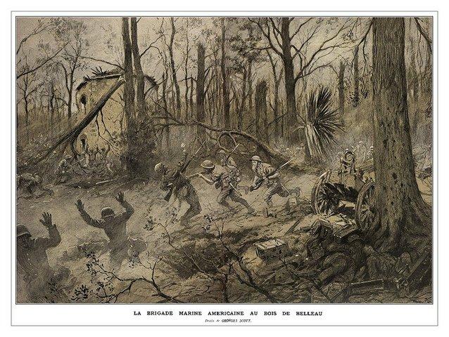 The Battle of Belleau Wood begins