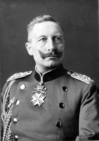 German kaiser Wilhelm II is overthrown
