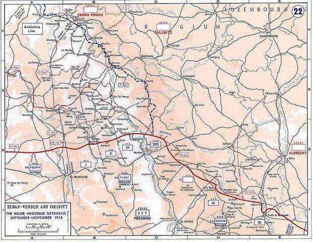The Battle of Argonne Forest begins
