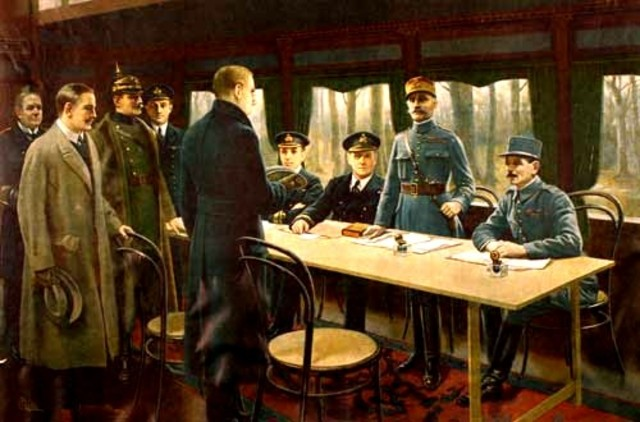 Germany appeals for an armistice