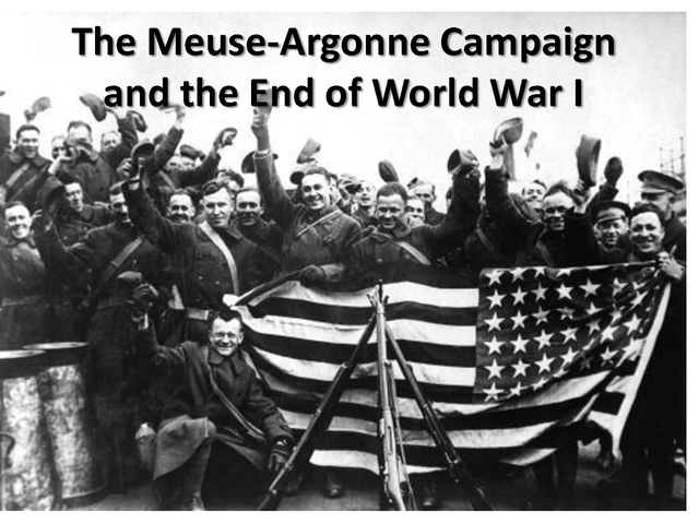 The Battle of Argonne Forest ends