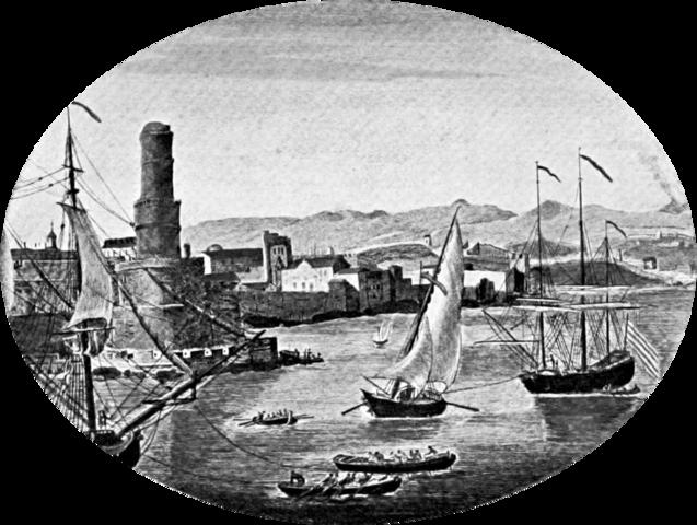La capital de Puerto Royal, el refugio de los piratas del Caribe, se hunde en el océano en un terremoto de magnitudes bíblicas.