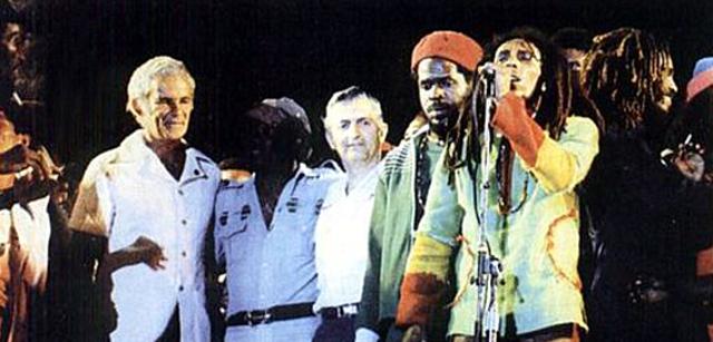 """Bob Marley saca """"Punky Reggae Party"""", una colaboración con Lee """"Scratch"""" Perry."""