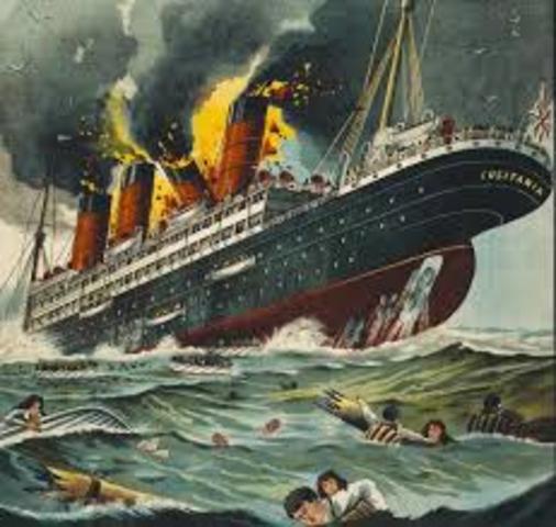 Lustinia torpedoed