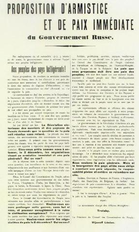 Germans suggest armistice