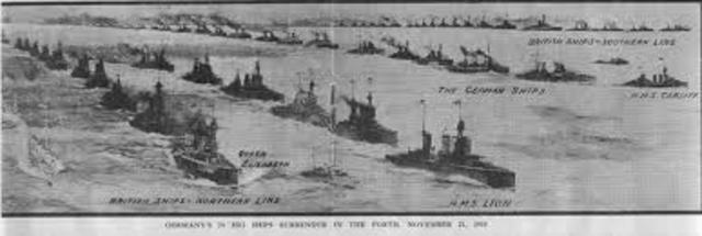 Britain blockades Germany