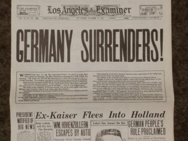 German government suggests armistice