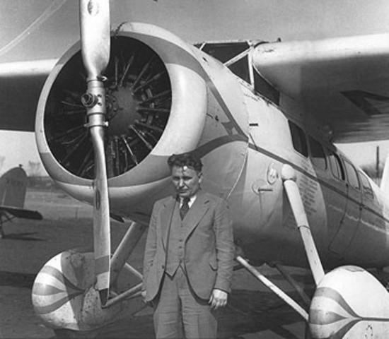 First Solo Flight Around the World