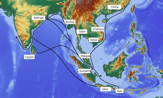 Development of Asain Sea Trading Network