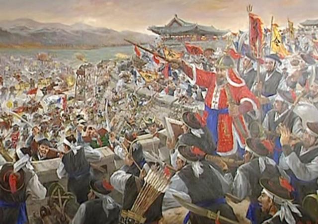 Japan's invasion of Korea