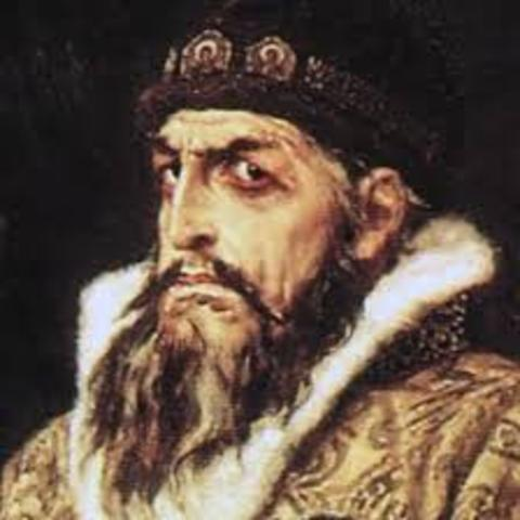 Ivan IV came to power
