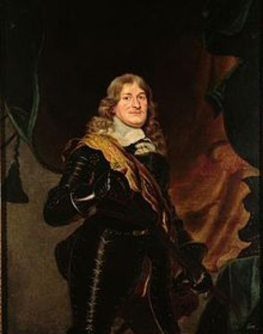 Frederick William inherited the title of elector of Brandenburg