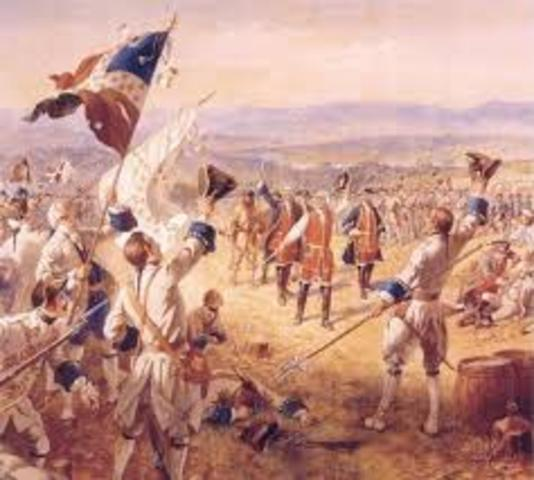 End of the Seven Years' War (Treaty of Paris)
