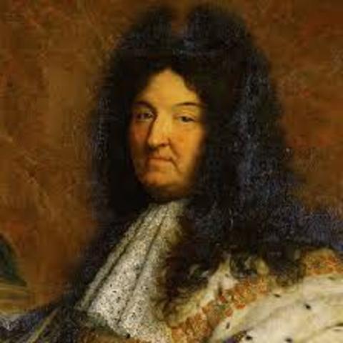 when did louis XIV death