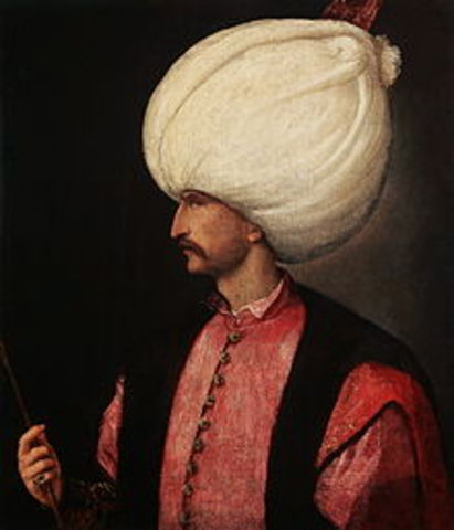 Suleiman I exercised great power as sultan of the Ottoman Empire