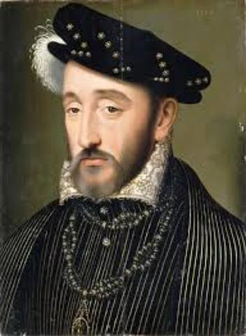 Henry II died