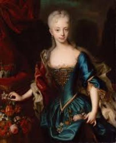 Maria Theresa takes over rule of Austria