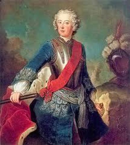 Frederick the Great became king