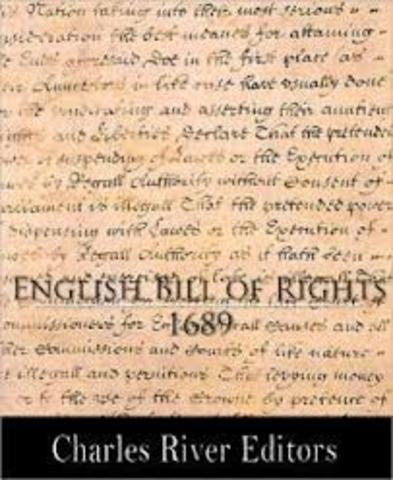 Parliment passes the Bill of Rights