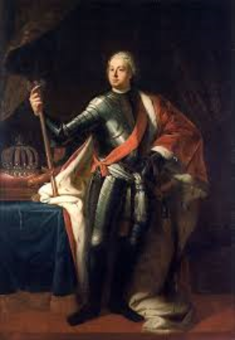 when did frederick the great becomes king