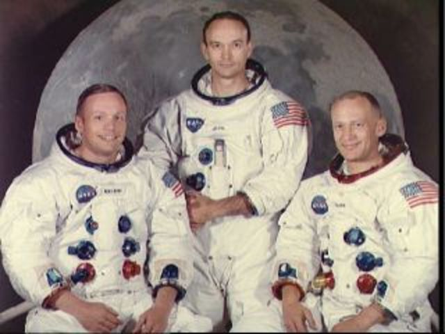 The First manned mission to the moon