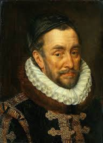 when did William of Orange overthrows the Spanish Rule