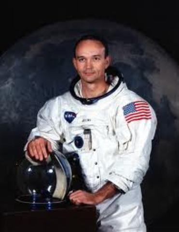 Collins Turns down the Moon