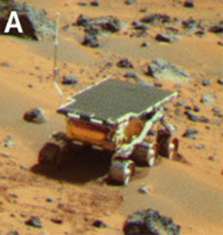 First Surface Travel on Another Planet