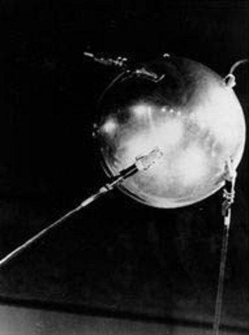 Sputnik launched by soviet