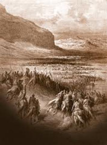 Conquest of Syria and the fall of Jerusalem.