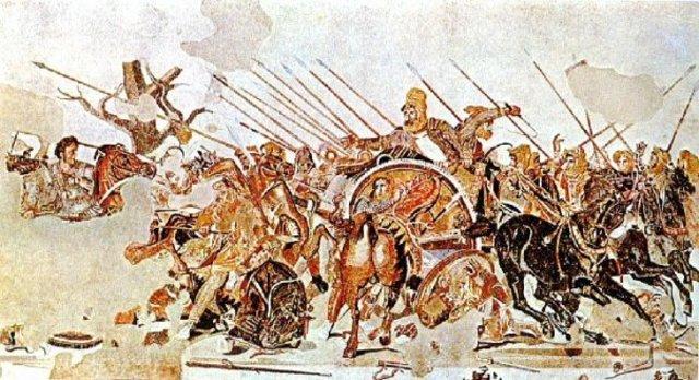 Conquest of Persia.