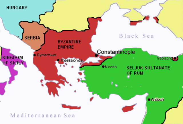 Conquest of  the Byzantine