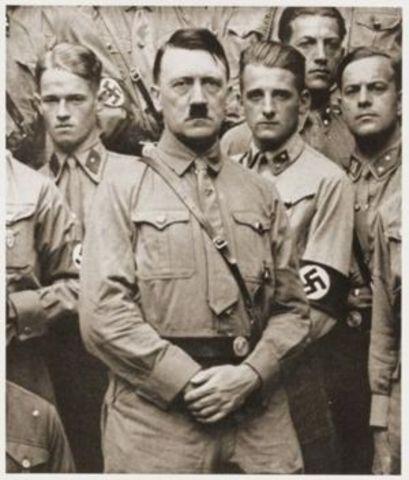 Hitler's self proclaim
