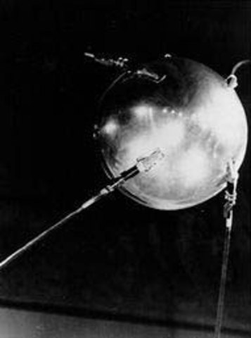 First Satellite to Orbit Earth