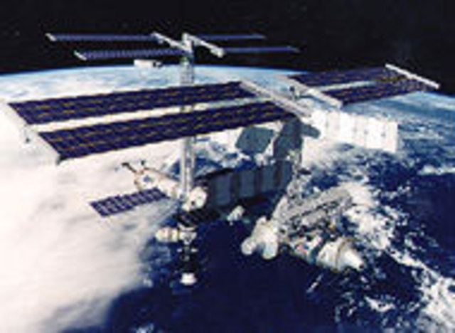 First International Space Station (ISS) Mission