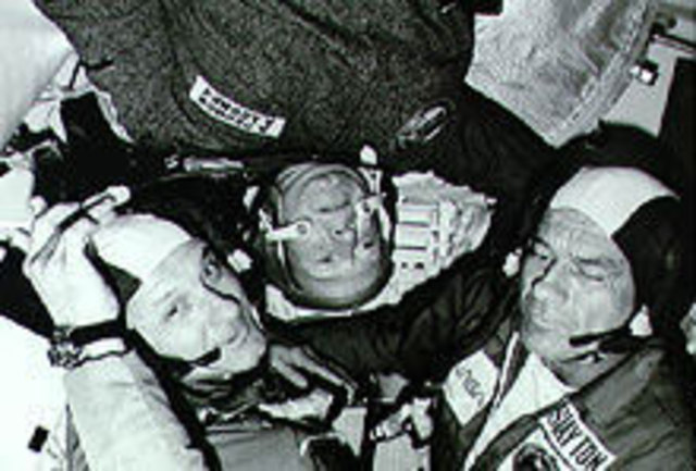 First International Docking in Space