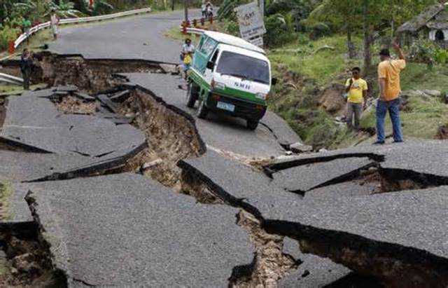 Violent Earthquake
