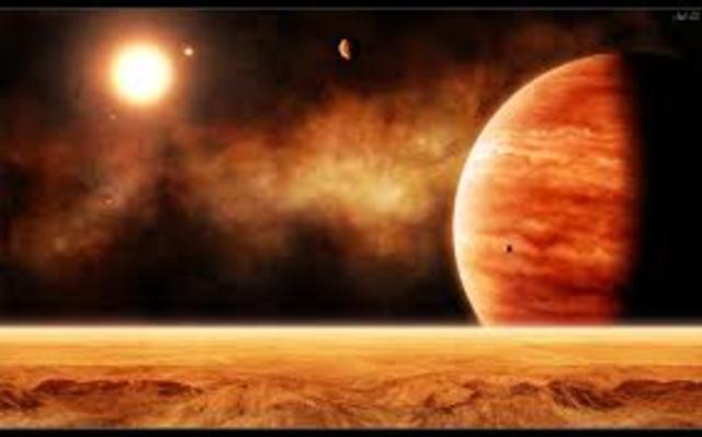 First Mars Landing