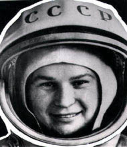 First Woman In Space!