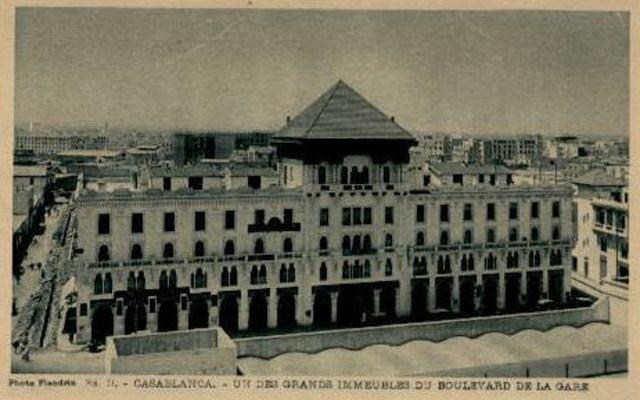 construction de l'immeuble Bessonneau