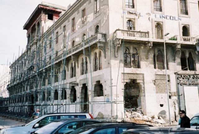 Les façades de l'Hôtel Lincoln sont inscrites au répertoire national des monumentshistoriques