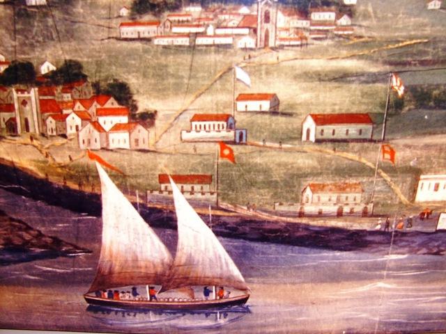 Batalha naval no cabo de S. Vicente. A esquadra miguelista é apresada.