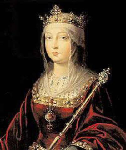 Nacimiento de Isabel de Trastámara